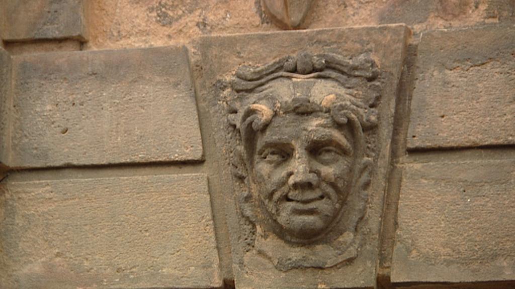 Detail z Písecké brány