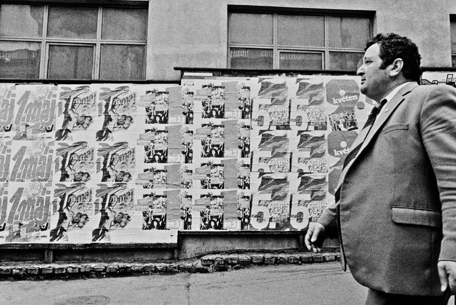 Plakátovací plochy  (před rokem 1989)