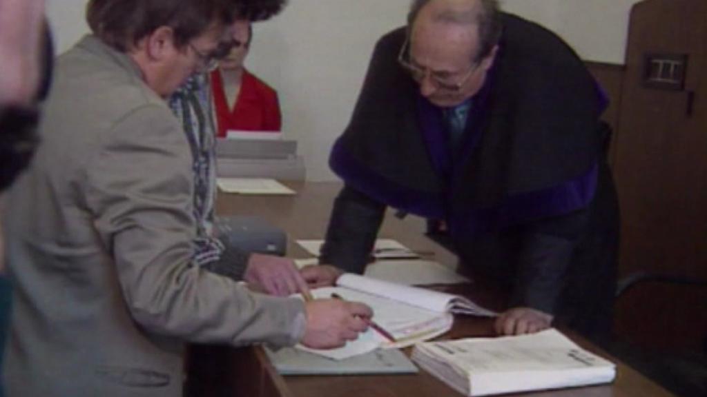 Jiří Bernát při soudním líčení