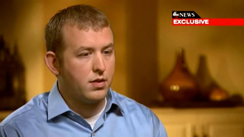 Darren Wilson v rozhovoru pro ABC News