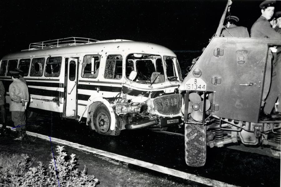 Násilný pokus o přechod hranic ČSSR
