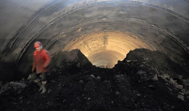 Stavba tunelu Blanka