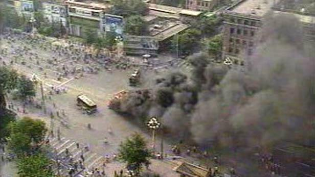 Zásah čínské armády na Tchien-an-men