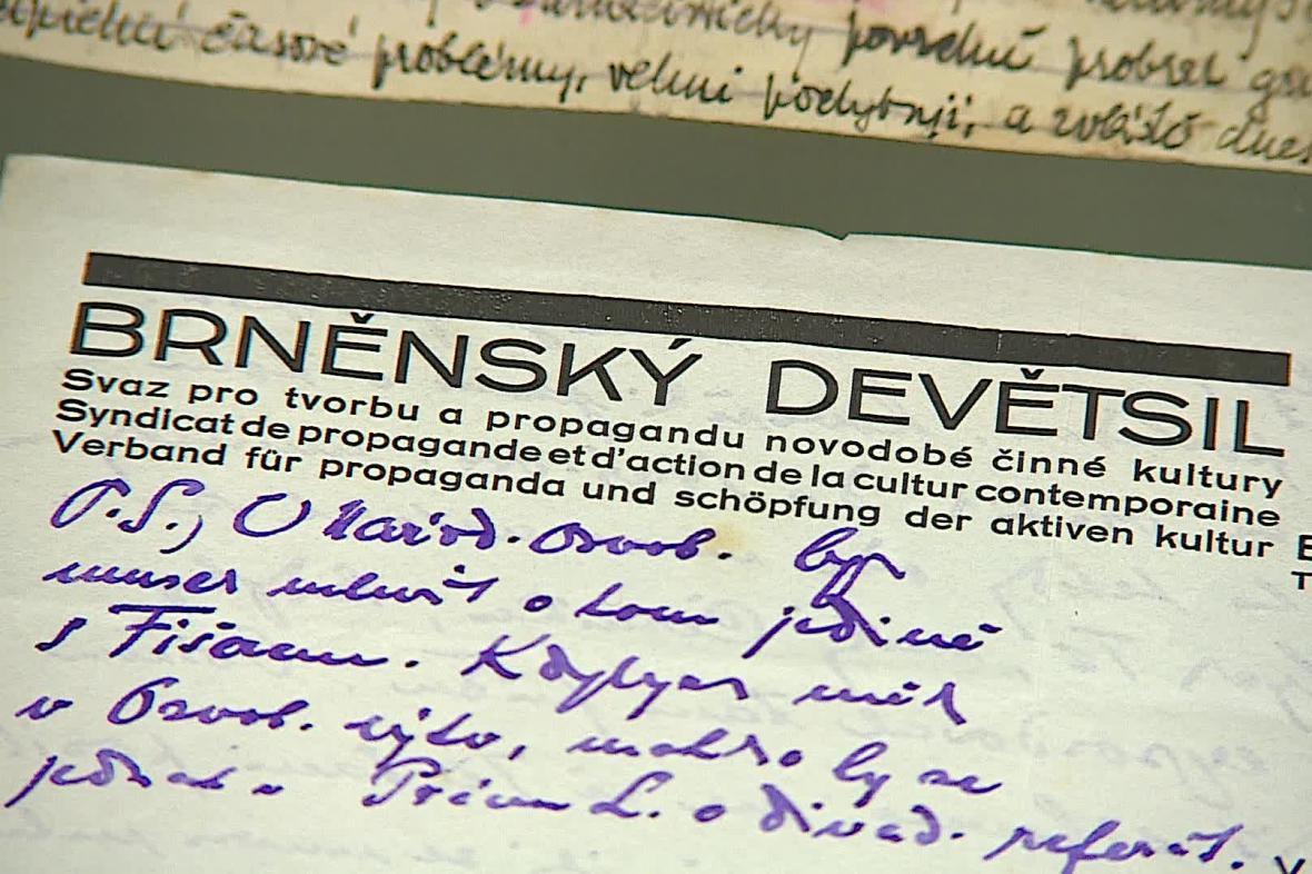 Brněnský Devětsil se zaměřoval na filmovou tvorbu