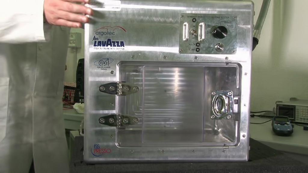 Vesmírný kávovar ISSpresso