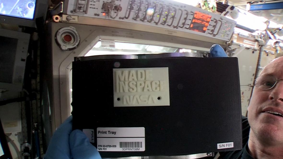 Na ISS zprovoznili 3D tiskárnu