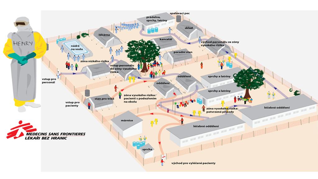 Ebolové centrum v Conakry