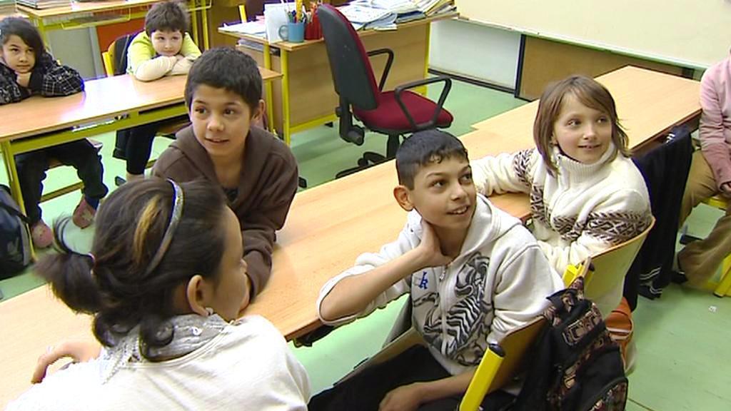 Děti v praktické škole