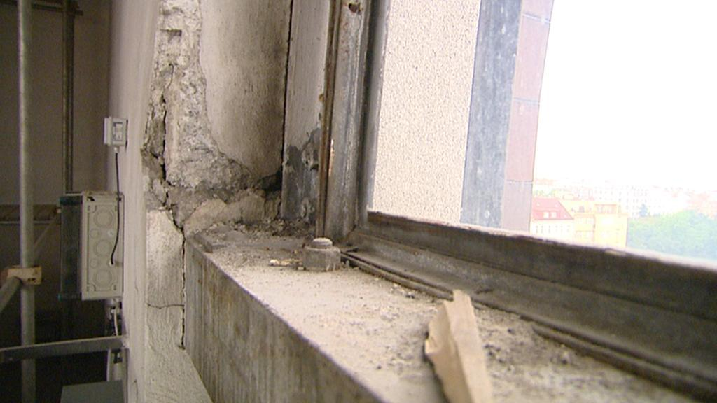 Některé části kostela nutně potřebují opravu