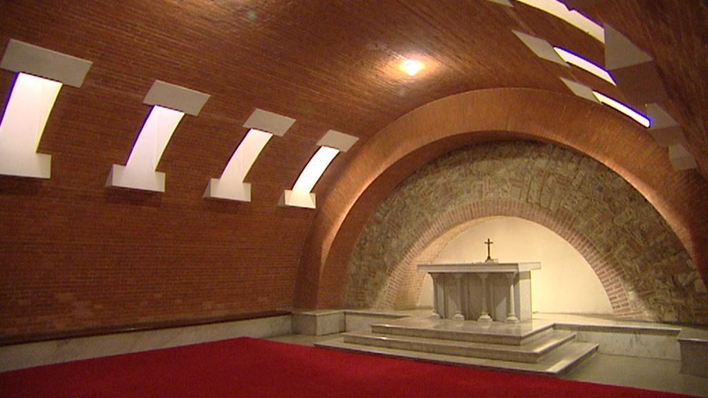 Krypta kostela Nejsvětějšího srdce Páně