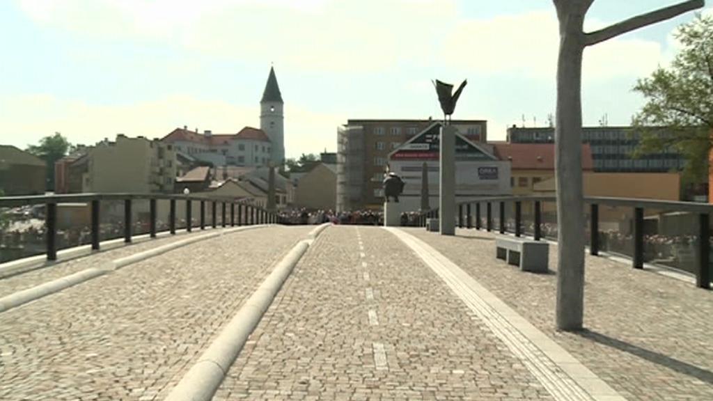 Tyršův most v Přerově