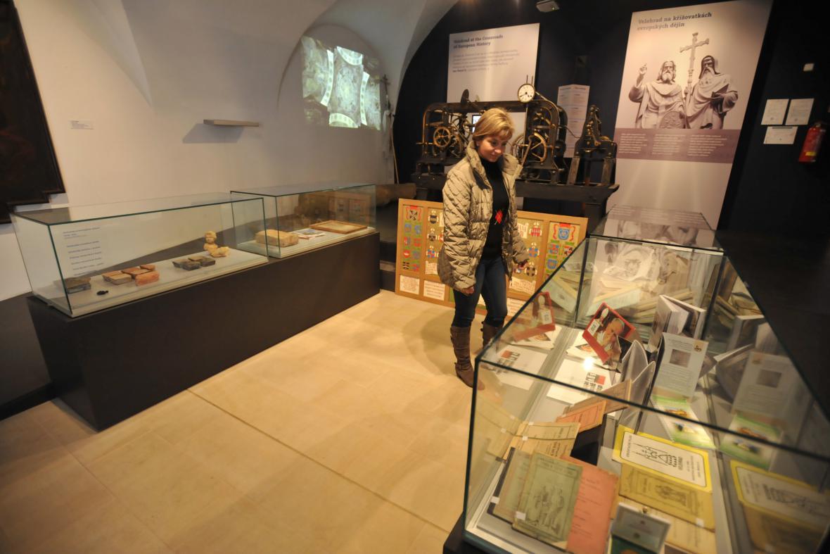 Nové expozice v areálu velehradské baziliky