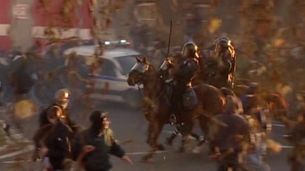 Nepokoje na sídlišti Janov - listopad 2008