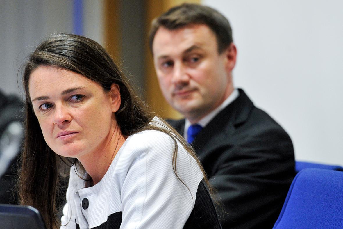 Zuzana Kocumová a Martin Půta