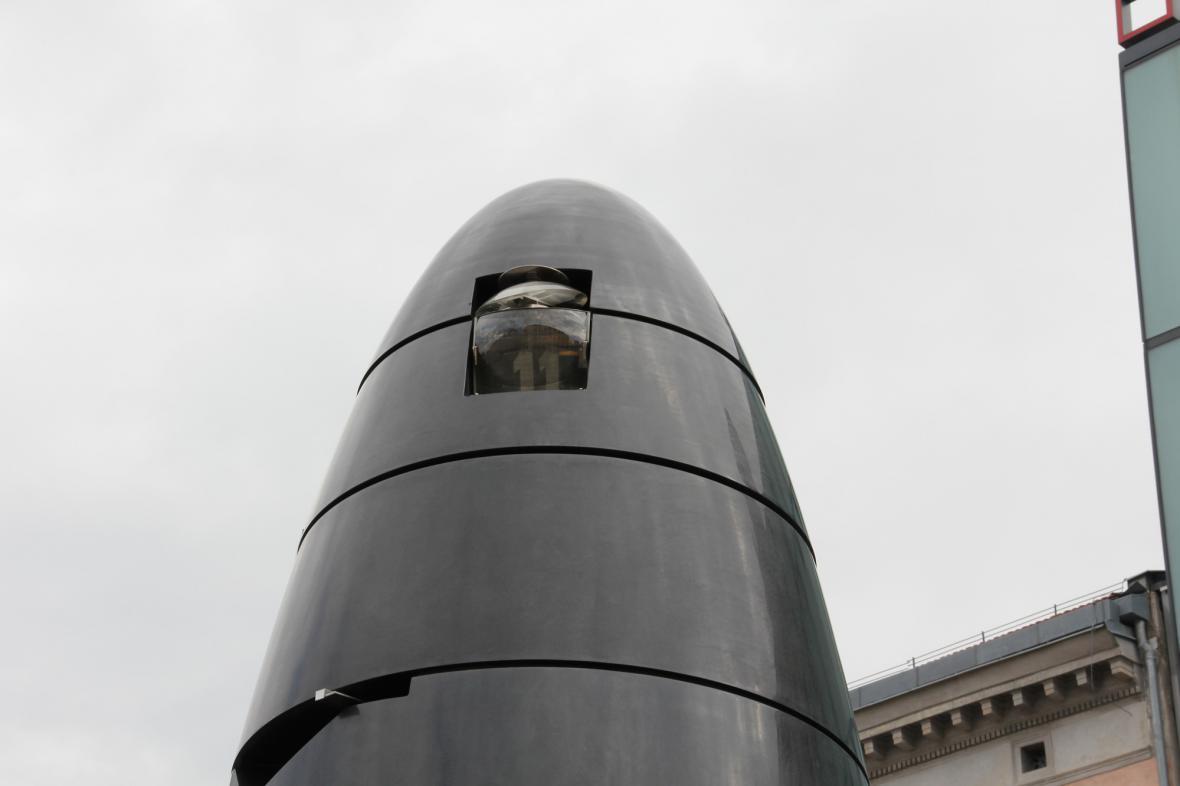 Orloj na náměstí Svobody