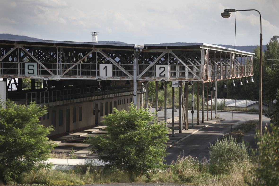 Bývalý hraniční přechod Folmava-Schafberg