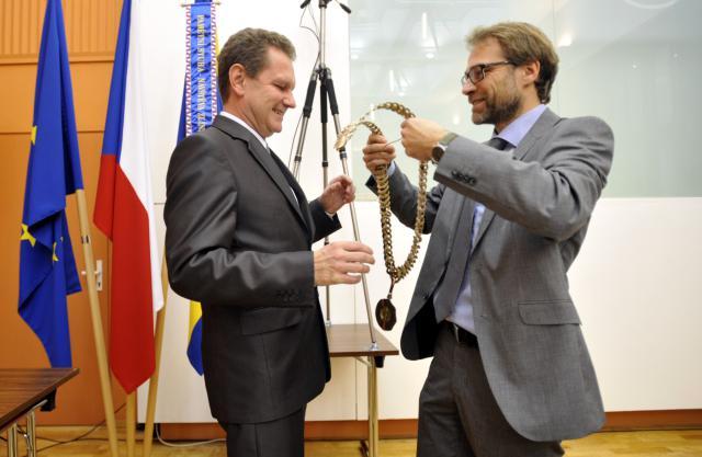 Primátor Zlína Miroslav Adámek