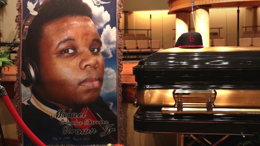 Pohřeb Michaela Browna v St. Louis