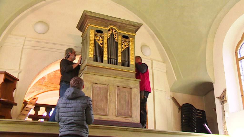 Stěhování barokních varhan