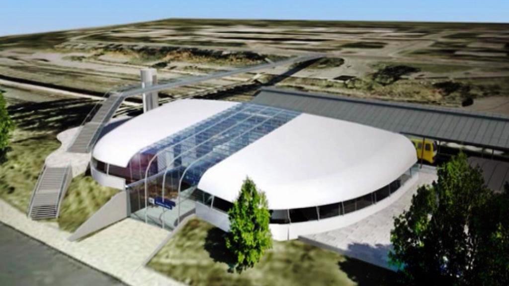 Projekt architekta Petra Franty na karlovarské nádraží