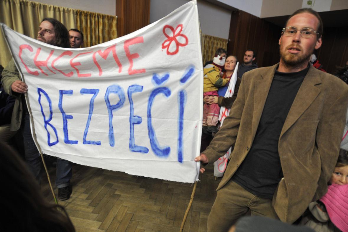 Protest ve Vlachovicích