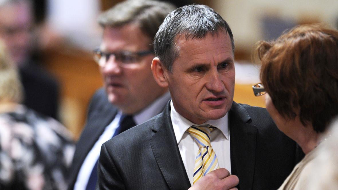 Jiří Čunek v Senátu