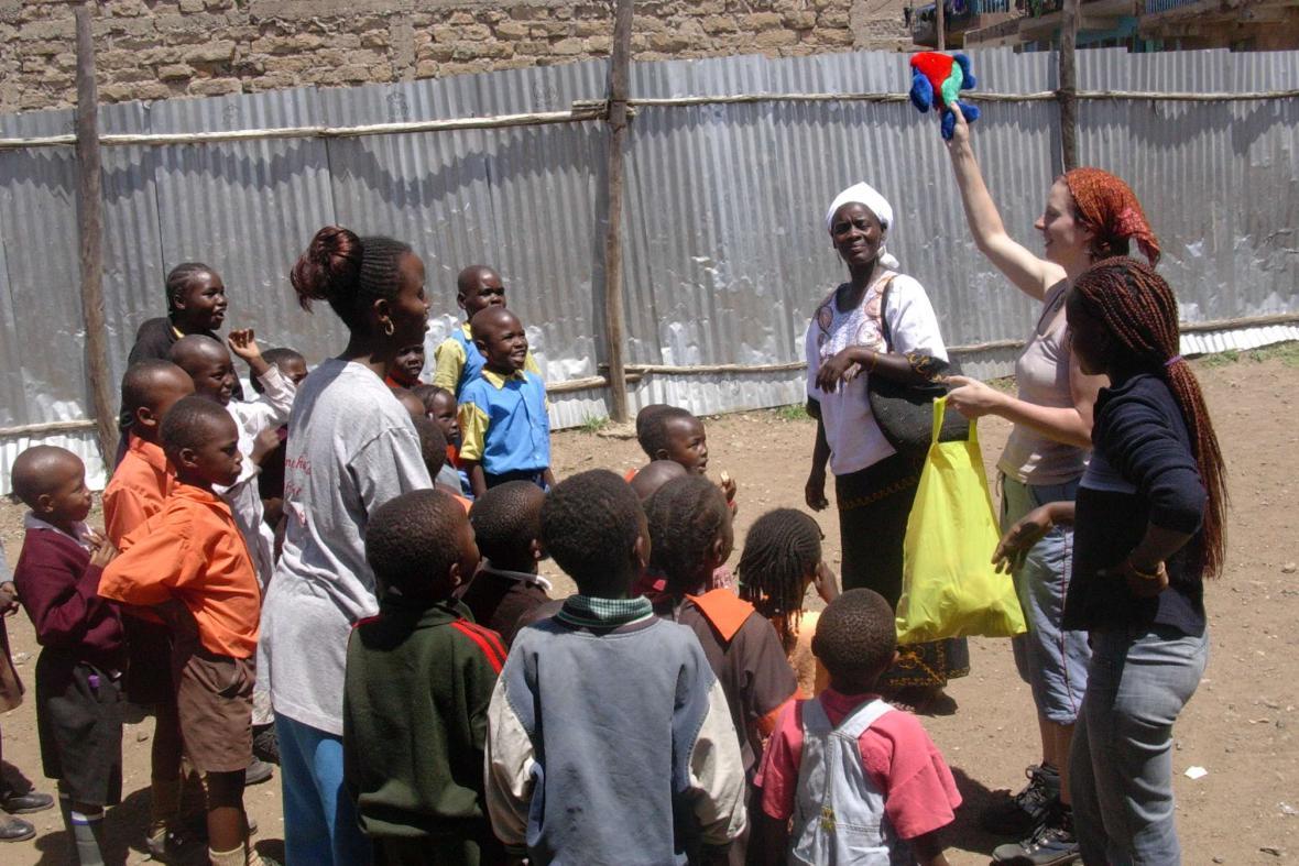 Marie Chrástenská navštívila Keňu už třikrát