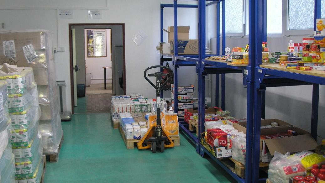 Potravinová banka v Ostravě