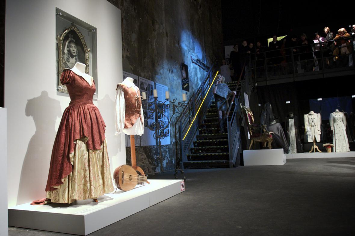Výstava Jak se oblékají pohádky