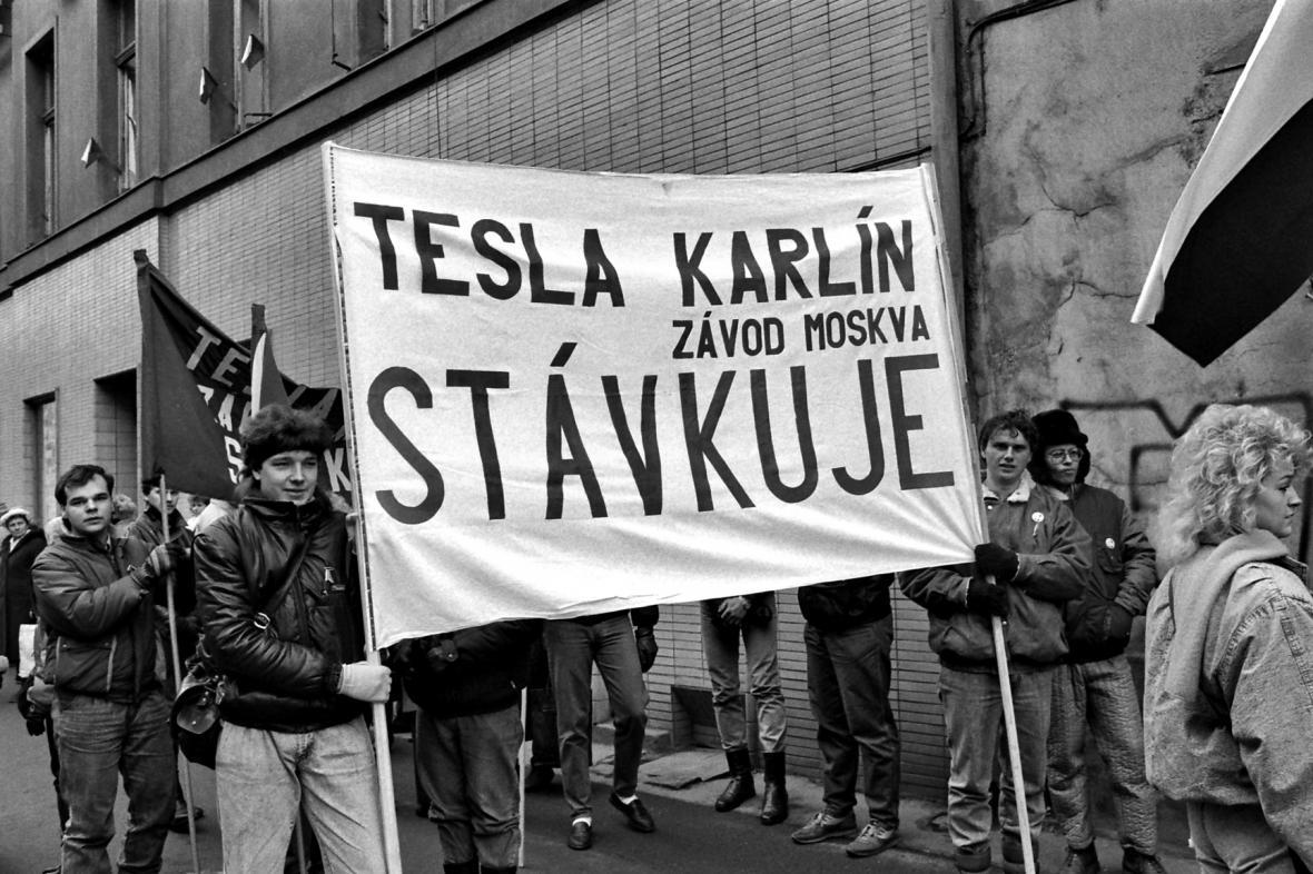 Listopadové demonstrace 1989 v Praze