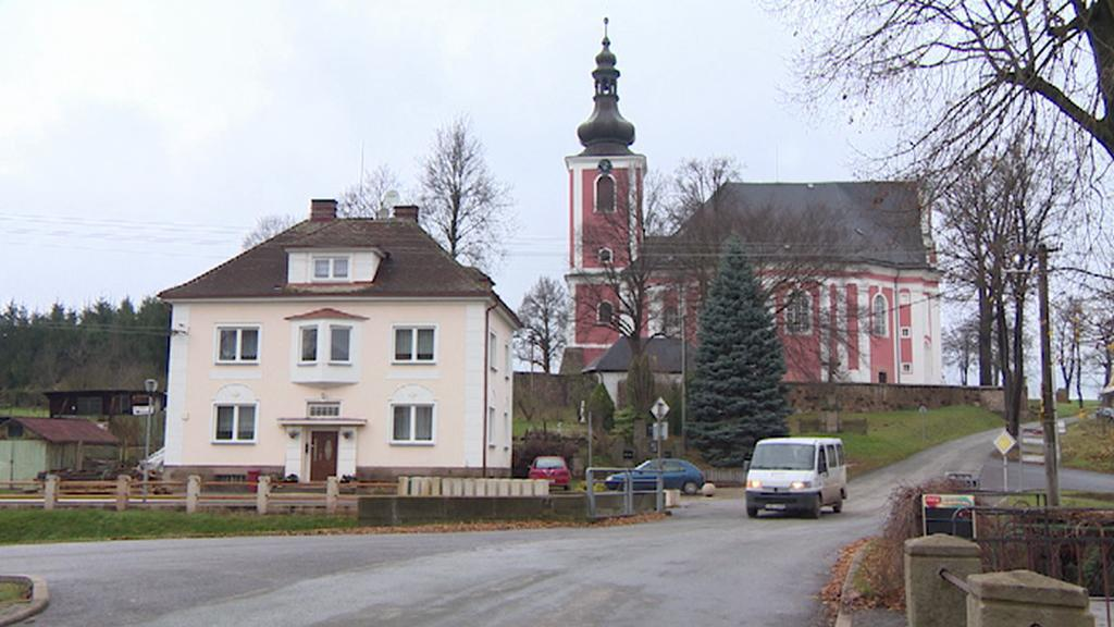 Božanov - centrum obce