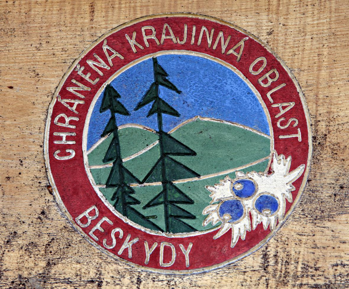 Znak CHKO Beskydy