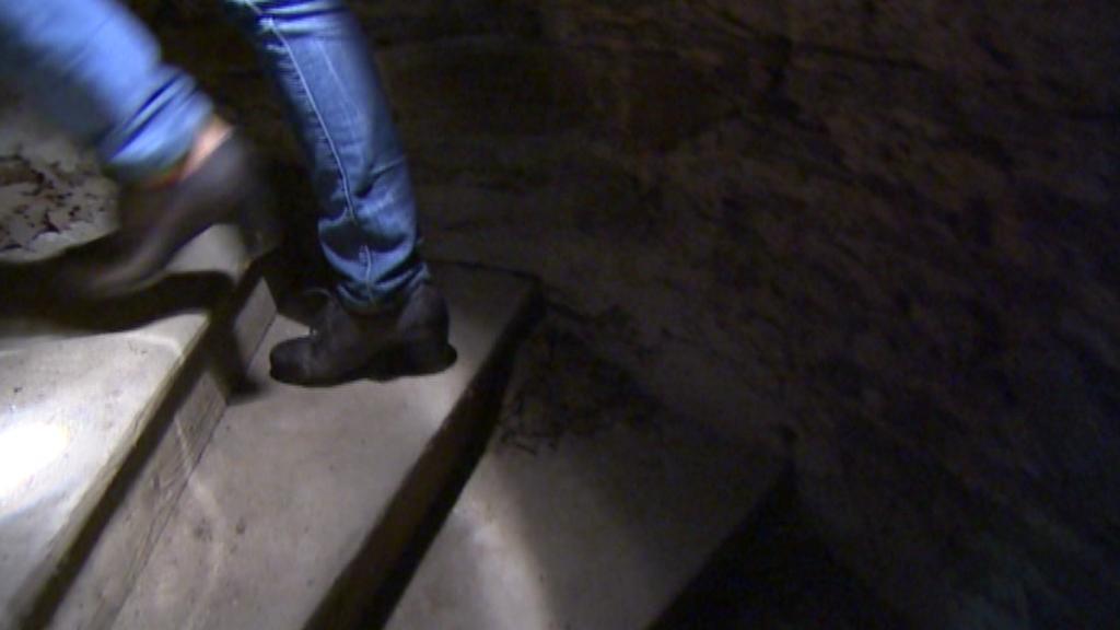 Původní schody v Jakobínce