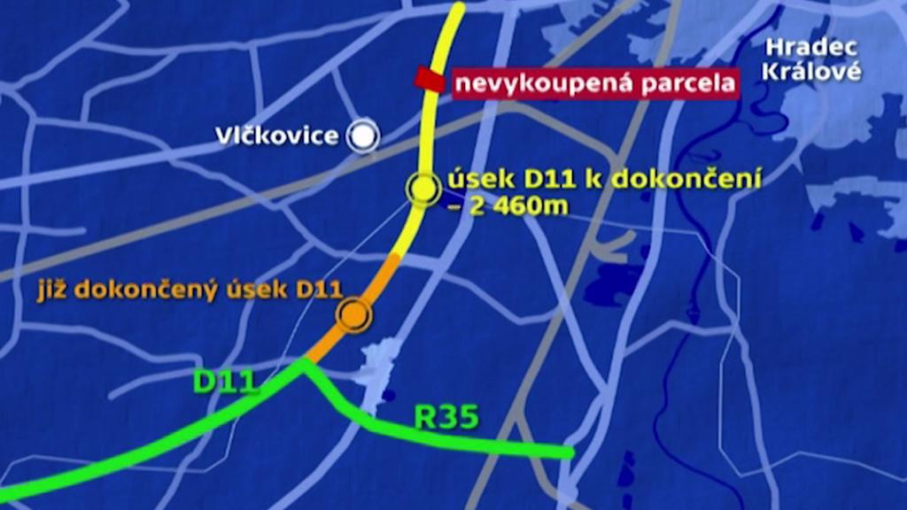 Plán dostavby D11
