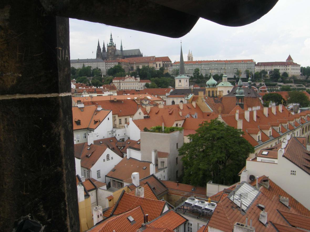 Praha, město věží