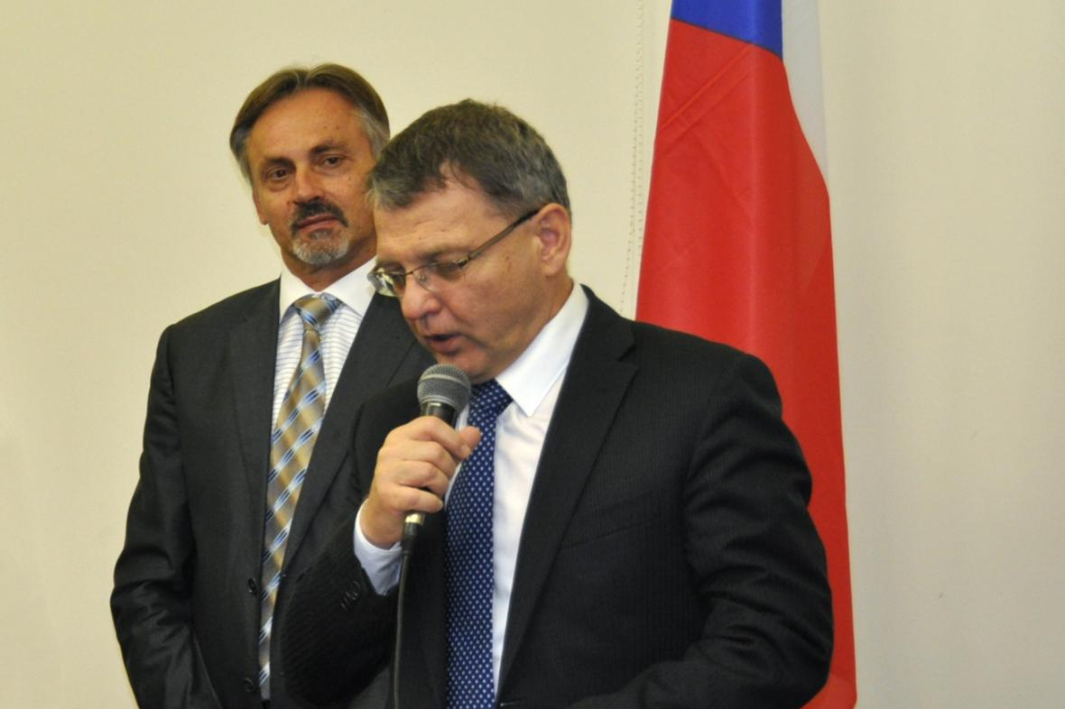Ivan Počuch a Lubomír Zaorálek