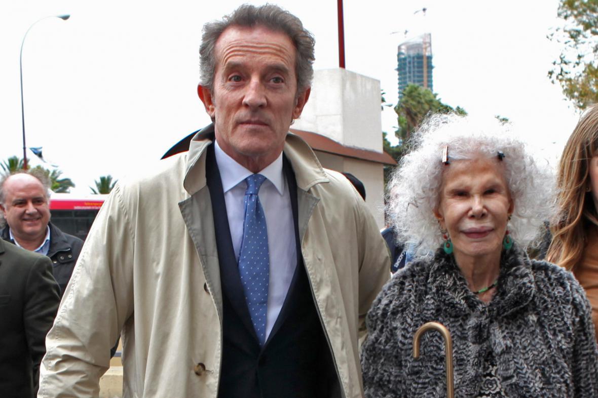 Alfonso Diez Carabantes a vévodkyně z Alby