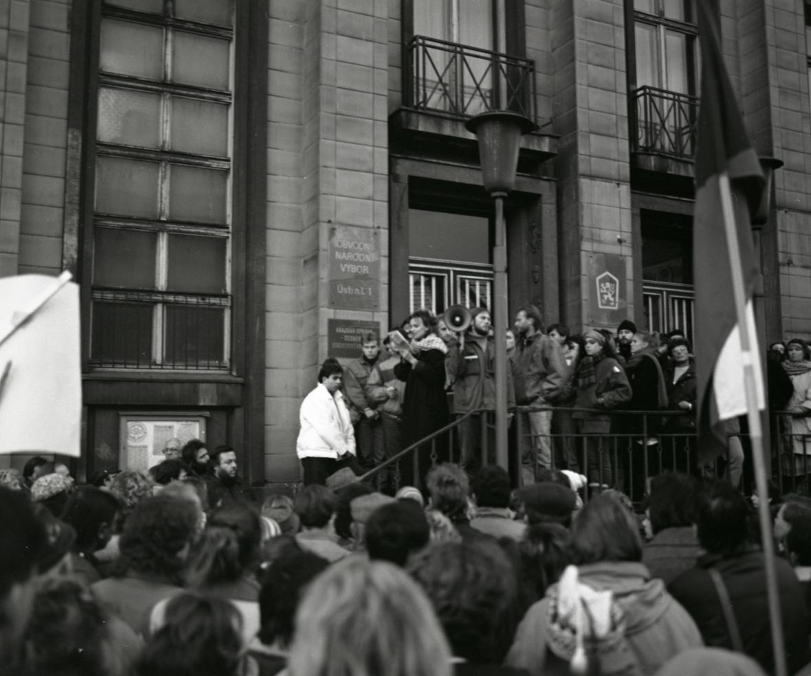 Ústí nad Labem - 23. 11. 1989 - Ivana Chýlková