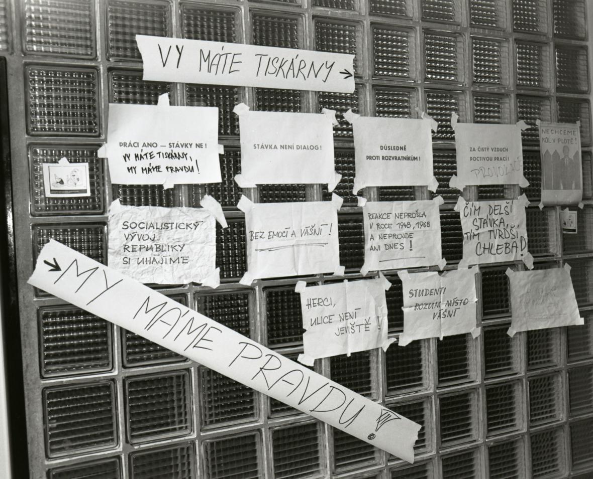 Ústí nad Labem - 25. 11. 1989