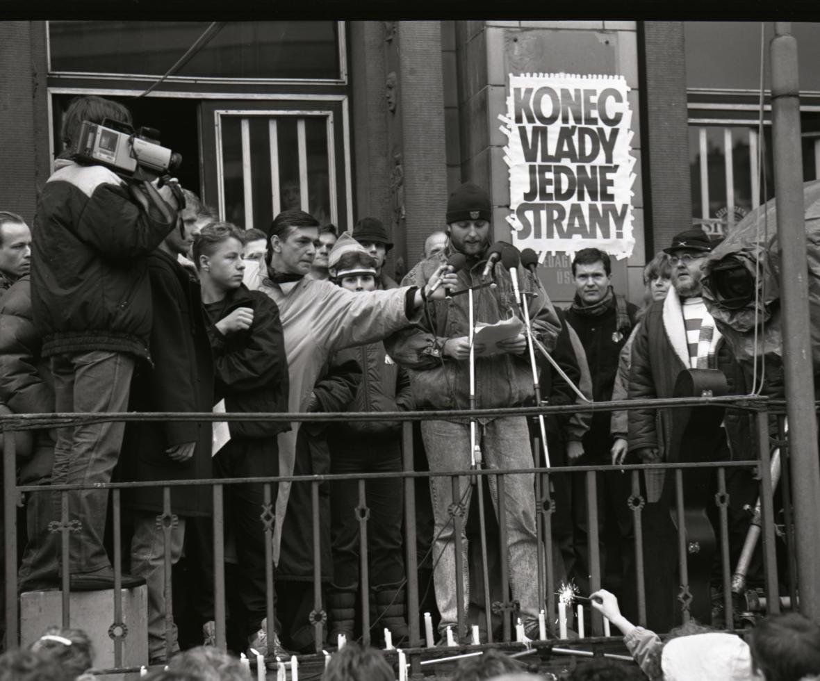 Ústí nad Labem - 27. 11. 1989