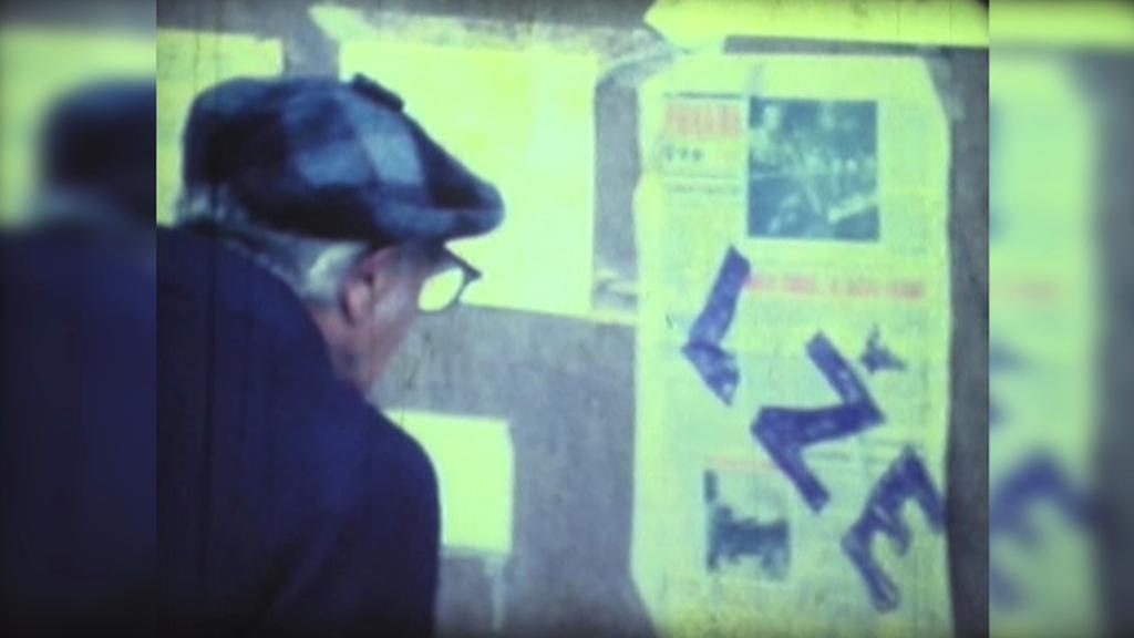 Plzeň - archivní záběr z listopadu 1989