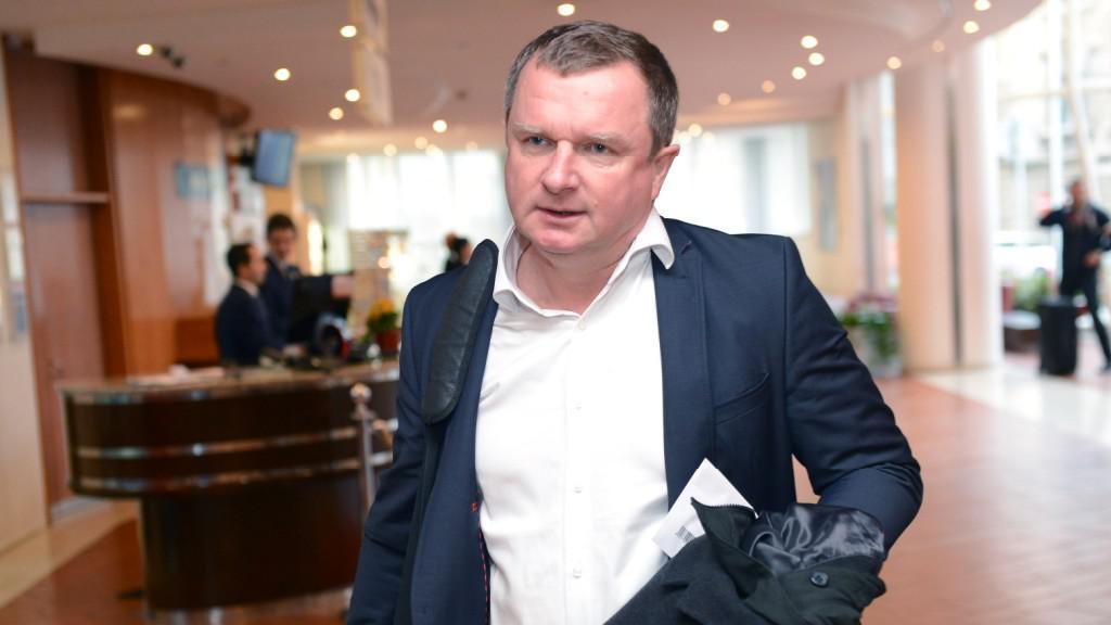 Trenér české reprezentace Pavel Vrba