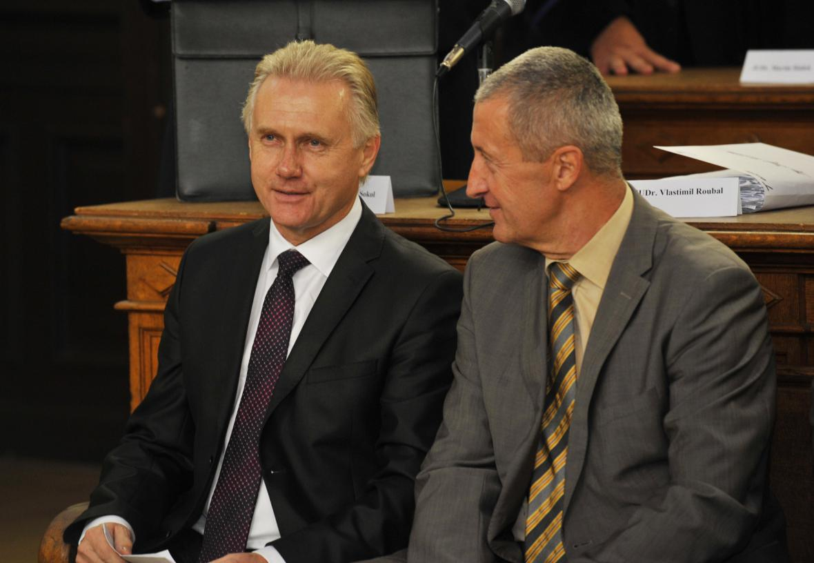 Obžalovaní Jiří Lajtoch a Josef Kulíšek