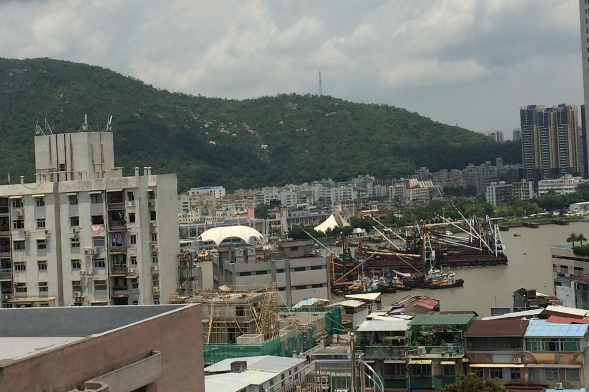 Přístavní čtvrť v Macau má osobité kouzlo