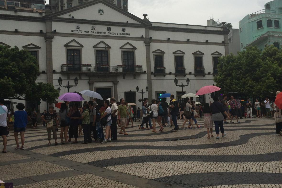 Radnice Macaa na Senátním náměstí