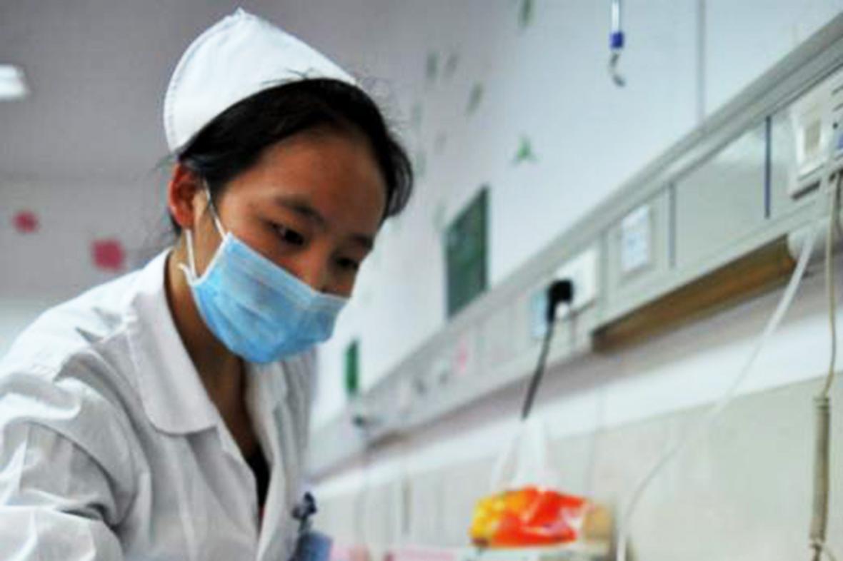 Útoků na zdravotnický personál v Číně přibývá. Ilustrační foto