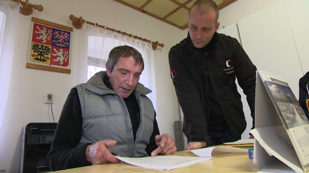 Dosavadní starosta Maňovic Miroslav Panuška