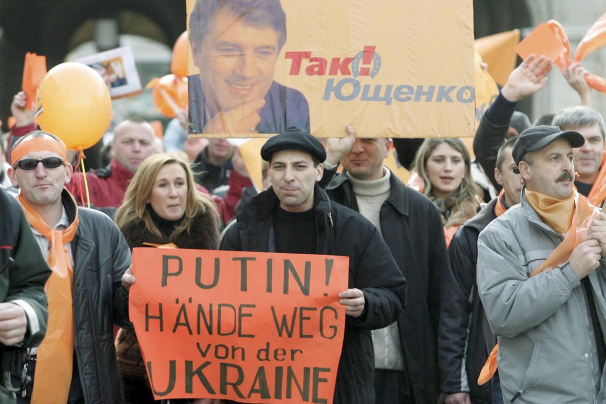 Oranžová revoluce na Ukrajině v roce 2004