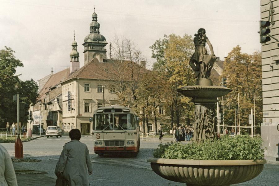 České Budějovice (z Města před rokem 1989 a dnes)