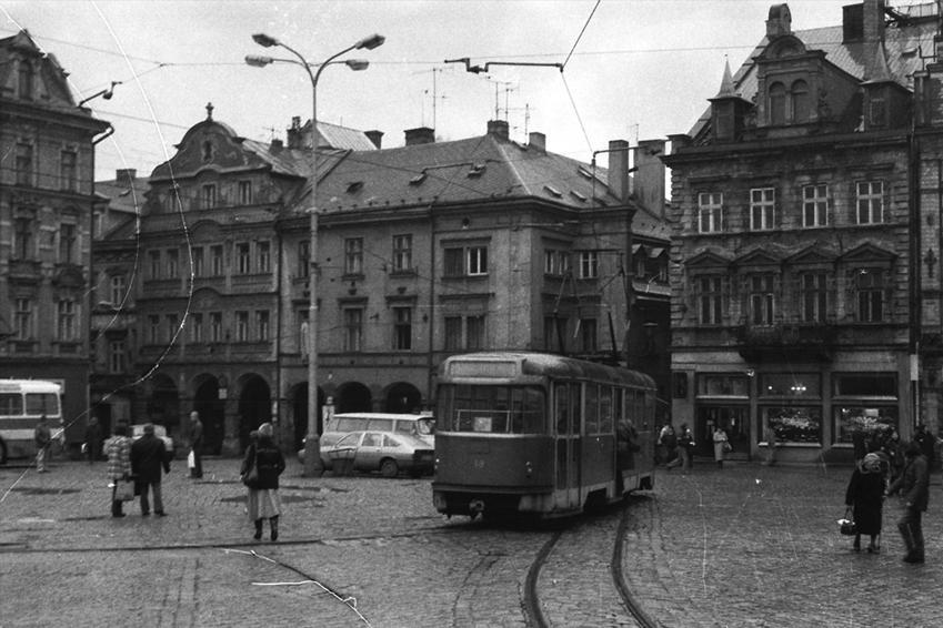 Liberec (z Města před rokem 1989 a dnes)